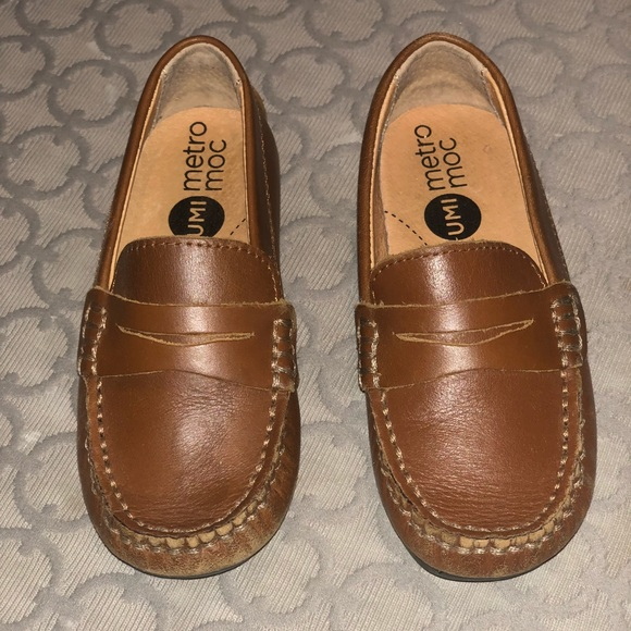 979a9510a30c7 UMI Metro Moc Loafers Brown Sz Toddler 8.5